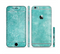 The Scratched Turquoise Surface Sectioned Skin Series for the Apple iPhone 6/6s Plus