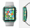 The Shades of Green Vector Flower-Bed Full-Body Skin Set for the Apple Watch
