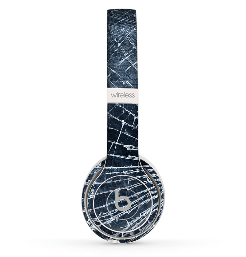 The Shattered Glass Skin Set for the Beats by Dre Solo 2 Wireless Headphones