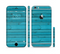 The Signature Blue Wood Planks Sectioned Skin Series for the Apple iPhone 6/6s Plus