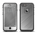 The Silver Brushed Aluminum Surface Apple iPhone 6/6s LifeProof Fre Case Skin Set