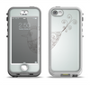 The Simple Vintage Bird on a String Apple iPhone 5-5s LifeProof Nuud Case Skin Set