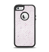 The Small Pink Polkadotted Surface Apple iPhone 5-5s Otterbox Defender Case Skin Set