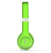 The Solid Green V3 Skin Set for the Beats by Dre Solo 2 Wireless Headphones