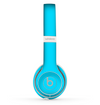 The Solid Turquoise Blue Skin Set for the Beats by Dre Solo 2 Wireless Headphones