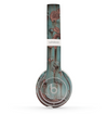 The Subtle Blue Metal with Rust Skin Set for the Beats by Dre Solo 2 Wireless Headphones