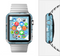 The Subtle Blue Ships and Anchors Full-Body Skin Set for the Apple Watch