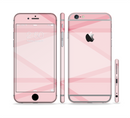 The Subtle Layered Pink Salmon Sectioned Skin Series for the Apple iPhone 6/6s Plus