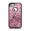 The Subtle Pink Glimmer Apple iPhone 5-5s Otterbox Defender Case Skin Set