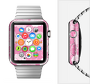 The Subtle Pinks Rose Pattern V3 Full-Body Skin Set for the Apple Watch