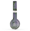 The Subtle Purple Metal with Light Green Rust Skin Set for the Beats by Dre Solo 2 Wireless Headphones