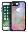 The Swirling Tie-Dye Scratched Surface - iPhone 7 or 7 Plus Commuter Case Skin Kit