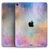 "The Swirling Tie-Dye Scratched Surface - Full Body Skin Decal for the Apple iPad Pro 12.9"", 11"", 10.5"", 9.7"", Air or Mini (All Models Available)"