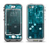 The Teal Sequences Apple iPhone 5-5s LifeProof Nuud Case Skin Set
