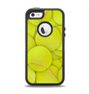 The Tennis Ball Overlay Apple iPhone 5-5s Otterbox Defender Case Skin Set