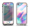 The Tie Dyed Bright Texture Apple iPhone 5-5s LifeProof Nuud Case Skin Set