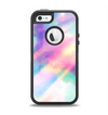 The Tie Dyed Bright Texture Apple iPhone 5-5s Otterbox Defender Case Skin Set