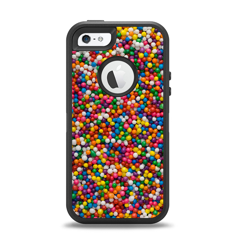 The Tiny Gumballs Apple iPhone 5-5s Otterbox Defender Case Skin Set