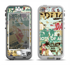 The Torn Magazine Collage Apple iPhone 5-5s LifeProof Nuud Case Skin Set