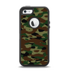 The Traditional Camouflage Apple iPhone 5-5s Otterbox Defender Case Skin Set