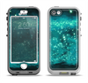 The Trendy Green Space Surface Apple iPhone 5-5s LifeProof Nuud Case Skin Set