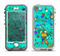 The Trendy Green with Splattered Paint Droplets Apple iPhone 5-5s LifeProof Nuud Case Skin Set