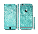 The Turquoise Mosaic Tiled Sectioned Skin Series for the Apple iPhone 6/6s Plus