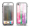 The Unfocused Color Vector Bars Apple iPhone 5-5s LifeProof Nuud Case Skin Set