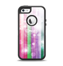 The Unfocused Color Vector Bars Apple iPhone 5-5s Otterbox Defender Case Skin Set