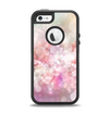 The Unfocused Pink Abstract Lights Apple iPhone 5-5s Otterbox Defender Case Skin Set