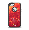 The Unfocused Red Showers Apple iPhone 5-5s Otterbox Defender Case Skin Set
