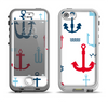 The Various Anchor Colored Icons Apple iPhone 5-5s LifeProof Nuud Case Skin Set