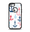 The Various Anchor Colored Icons Apple iPhone 5-5s Otterbox Defender Case Skin Set