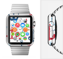 The Various Anchor Colored Icons Full-Body Skin Set for the Apple Watch