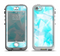 The Vector Abstract Shaped Blue Overlay Apple iPhone 5-5s LifeProof Nuud Case Skin Set