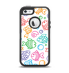 The Vector Color-FIsh Apple iPhone 5-5s Otterbox Defender Case Skin Set