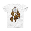 The Vector Dreamcatcher ink-Fuzed Front Spot Graphic Unisex Soft-Fitted Tee Shirt