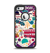 The Vector Purple Heart London Collage Apple iPhone 5-5s Otterbox Defender Case Skin Set