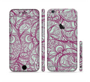 The Vector Purple Thin Laced Sectioned Skin Series for the Apple iPhone 6/6s Plus