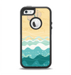 The Vector SeaShore Apple iPhone 5-5s Otterbox Defender Case Skin Set