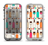 The Vectored Color Wine Glasses & Bottles Apple iPhone 5-5s LifeProof Nuud Case Skin Set