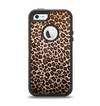 The Vibrant Cheetah Animal Print V3 Apple iPhone 5-5s Otterbox Defender Case Skin Set
