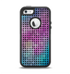 The Vibrant Colored Abstract Cells Apple iPhone 5-5s Otterbox Defender Case Skin Set