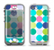 The Vibrant Colored Polka Dot V2 Apple iPhone 5-5s LifeProof Nuud Case Skin Set