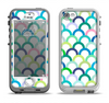 The Vibrant Fun Colored Pattern Hoops Apple iPhone 5-5s LifeProof Nuud Case Skin Set