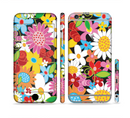 The Vibrant vector Flower Petals Sectioned Skin Series for the Apple iPhone 6/6s Plus