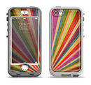 The Vinatge Sprouting Ray of colors Apple iPhone 5-5s LifeProof Nuud Case Skin Set