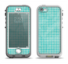 The Vintage Blue Plaid Apple iPhone 5-5s LifeProof Nuud Case Skin Set