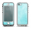 The Vintage Blue Textured Surface Apple iPhone 5-5s LifeProof Nuud Case Skin Set