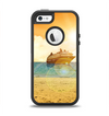 The Vintage Cruise ship at Dusk Apple iPhone 5-5s Otterbox Defender Case Skin Set